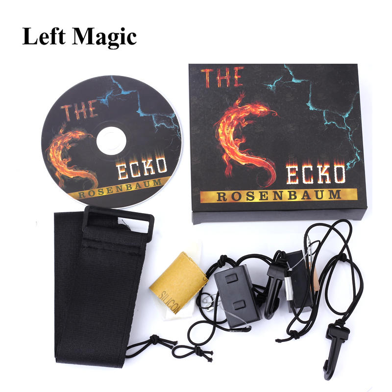The Gecko By Jim Rosenbaum (Gimmicks+DVD) Vanish Magic Tricks Disappearing Device Funny Close Up Stage Magic Props Tools paddington and the disappearing sandwich
