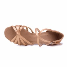 Heel 7cm/5cm Latin Dancing Shoes Women Ballroom Salsa Dance Shoes Zapatos De Baile Latino Mujer WZJ Free Shipping