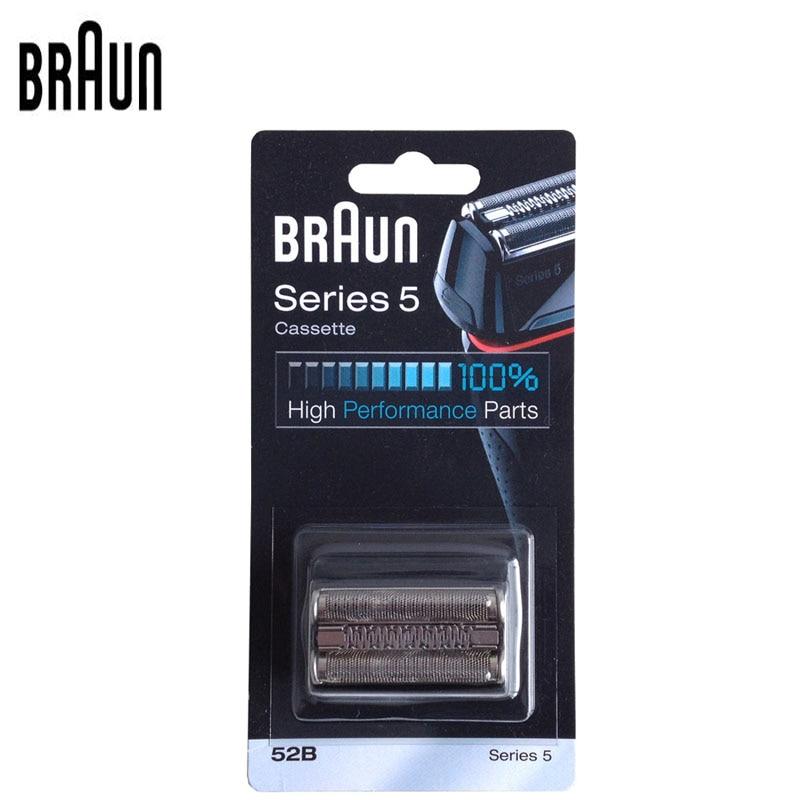 Braun Rasoir Rasoir Lame De Rechange Cassette pour Série 5 Haute Perfprmance Pièces (5090 5050 5030) 52 s/52B