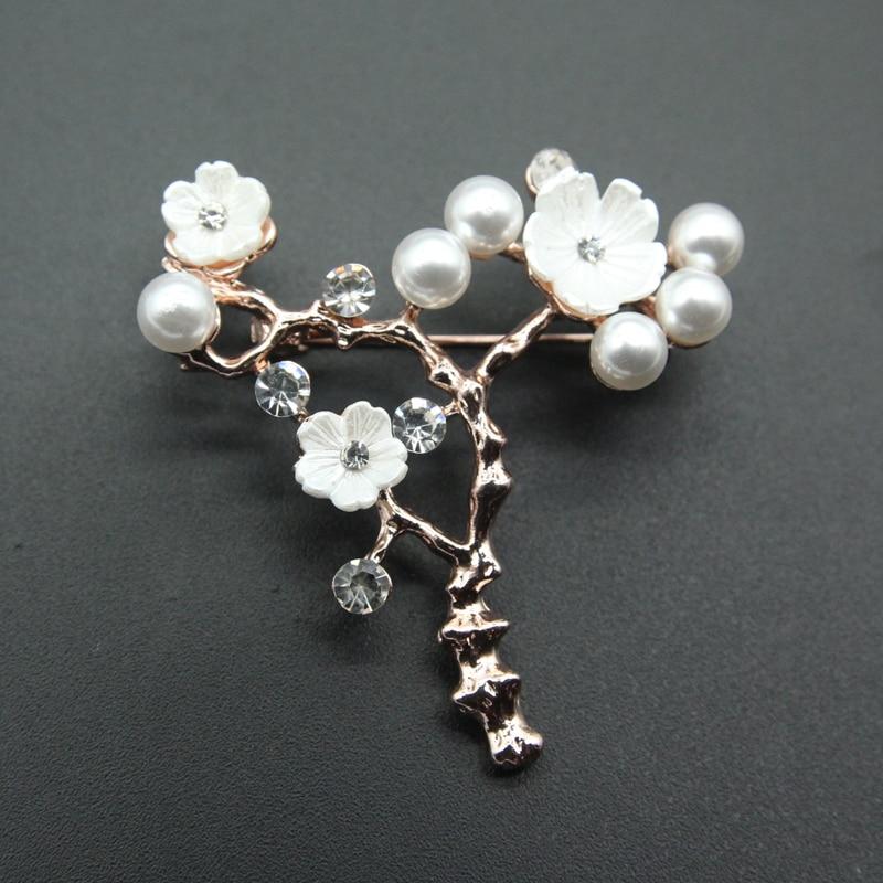 Blesiya Women/'s Cloth Hair Clip Maple Leaf Bridal Wedding Corsage Brooch Pin