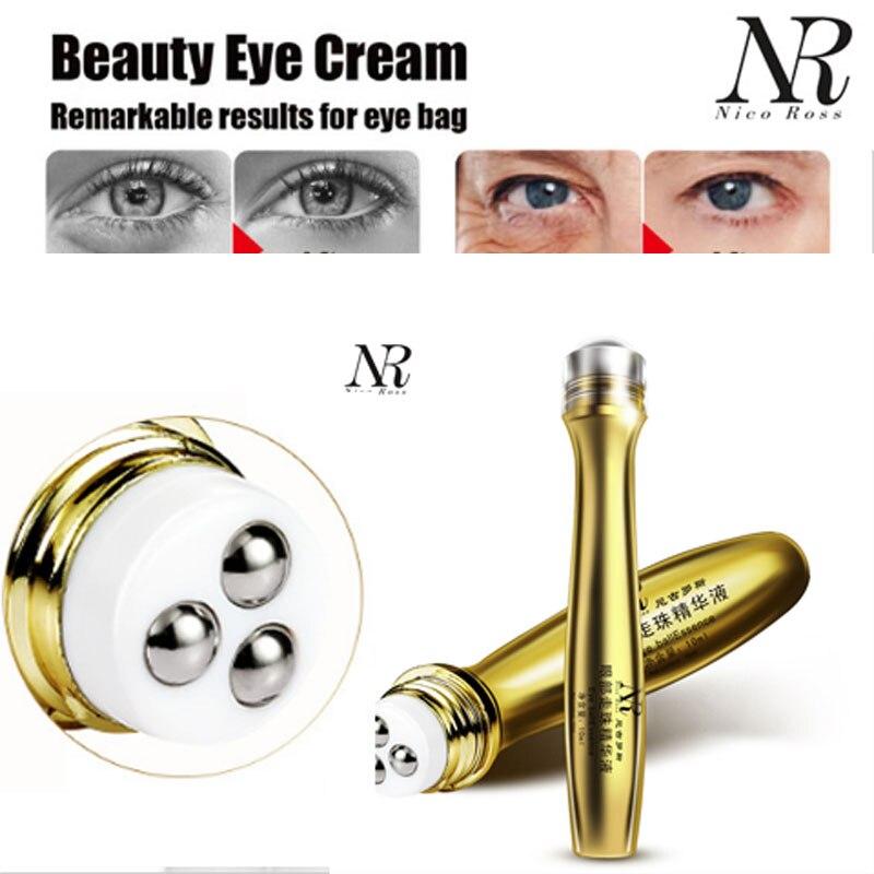 NR уход за кожей коллагена прокрутки anti-отечность Anti-Aging темный круг нестареющий удалить увлажняющий Сыворотка для глаз золотой глаз крем olheiras