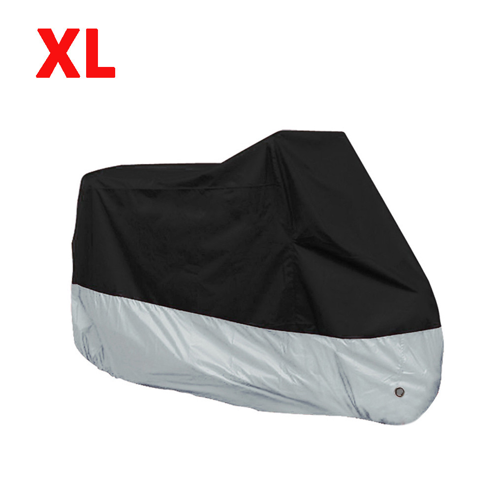 Rain Dustproof Cover For Motorcycle Scooter Outdoor UV Protector Bicycle Dustproof Motorcycle Raincoat For Waterproof#y5(China)