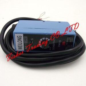 Image 5 - NT BG22 de capteur de weilong de code couleur NT BG23 pour des machines à emballer, source lumineuse de commutateur photoélectrique en métal ajustée/bleu et vert
