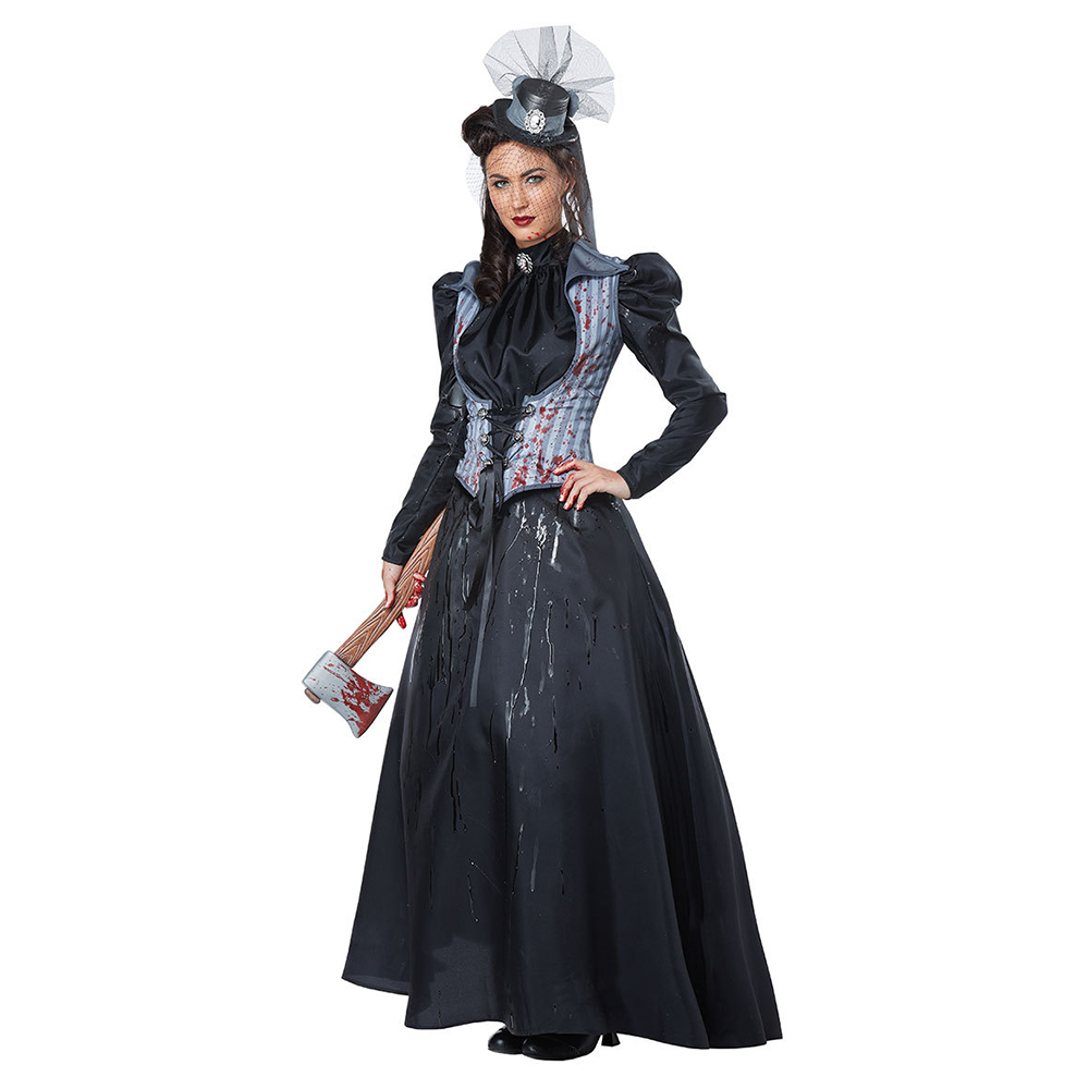 VASHEJIANG 2018 New Devil murderess costume Devil May Cry Cosplay Costume for Halloween Masquerade