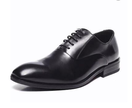 ShowMyHot Bullock carved men Retro Pointed Toe Brogue casual shoes lace up dress shoes British fashion