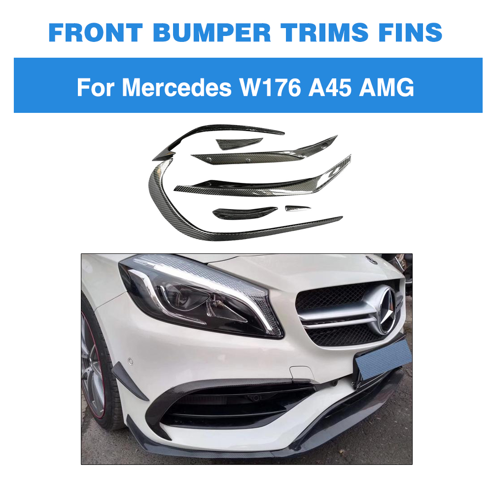 New Genuine MERCEDES BENZ A W176 Front Bumper Fog Light Cover Grill O//S Right