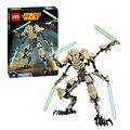 183 unids Star Wars 7 General Grievous con sable Storm Trooper w / gun juguetes figuras de bloques establece Compatible con Legoe