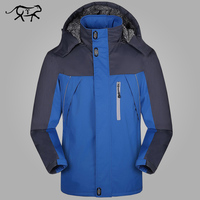 Thicker Men S Jacket Add Wool Waterproof Fashion Sport Wear Windbreake Hiking Skiing Camping Outdoor Clothing