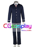Free Shipping Cosplay Costume Angel Beats Ayato Naoi Any Size New In Stock Retail Wholesale Halloween