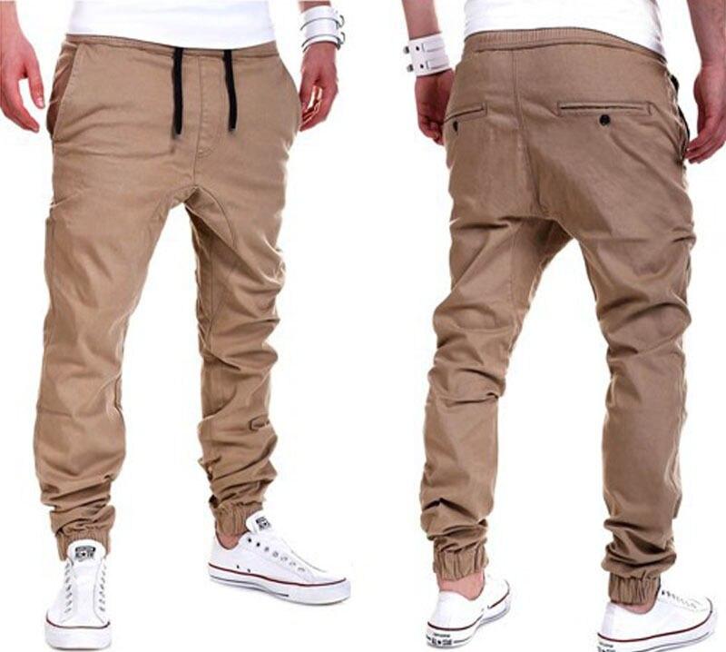 0c1f87038c6dd Moda Casual Para Hombre Pantalones de Chándal Basculador Danza Sportwear  Baggy Harem Pantalones Casual Hombres Otoño Larga Floja Pant M 3XL en  Pantalones ...