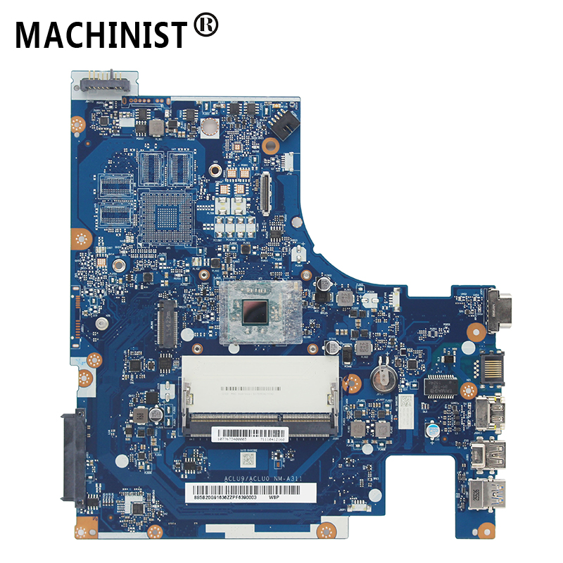 Original For Lenovo G50-30 G50 laptop motherboard with Intel N2820 N2840 CPU DDR3 ACLU9/ACLU0 <font><b>NM</b></font>-<font><b>A311</b></font> REV:1.0 100% fully Tested image