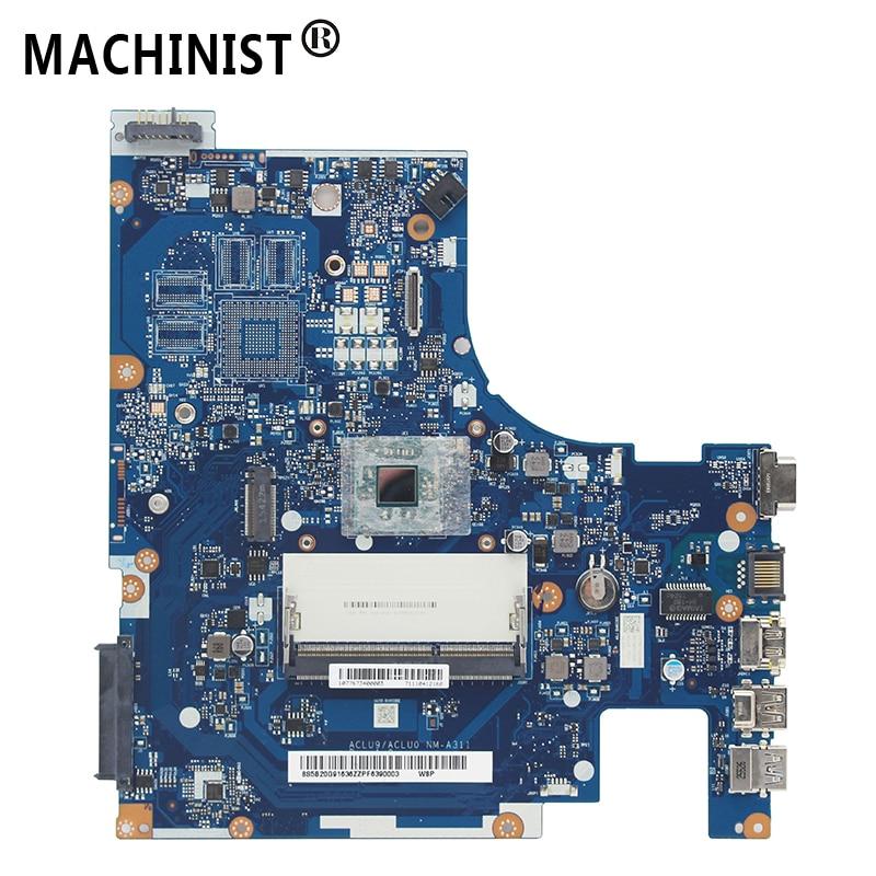 Original para lenovo G50-30 g50 computador portátil placa-mãe com intel n2820 n2840 cpu ddr3 aclu9/aclu0 NM-A311 rev: 1.0 100% totalmente testado
