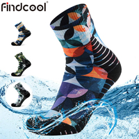 FINDCOOL Waterproof Socks Women Bamboo Socks High Quality Breathable and Warm Dry Fast Socks for Water Activities