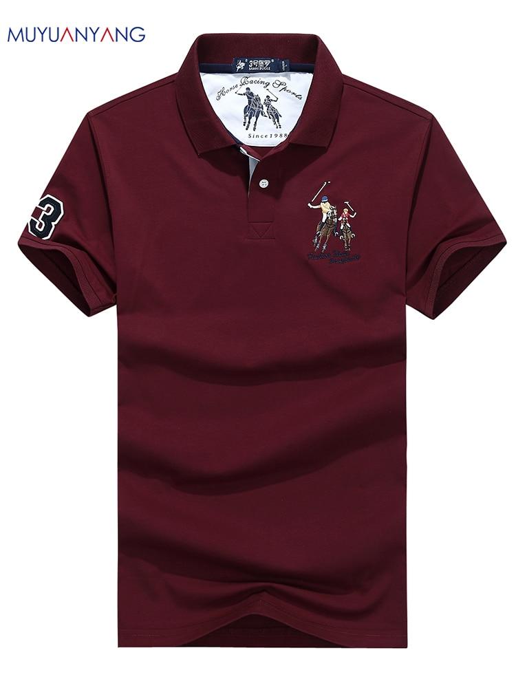 Mutter & Kinder Realistisch Mu Yuan Yang Männer Neue Drehen-unten Kragen Polo Shirts Herrenmode Kurze Ärmel Tees Männlichen Sommer Casual Hohe Qualität Polos