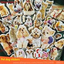 Очень Прекрасная собака Наклейки 3d мультфильм кота собаки любимчика игрушки наклейки для Детей Рождественский Подарок игрушки декор наклейки