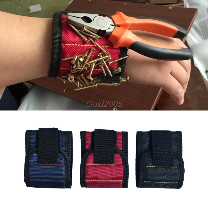 Magnetic Wristband Wrist Band Tool Kit Set Belt Bracelet For Holding Screws Nail G05 Drop Ship