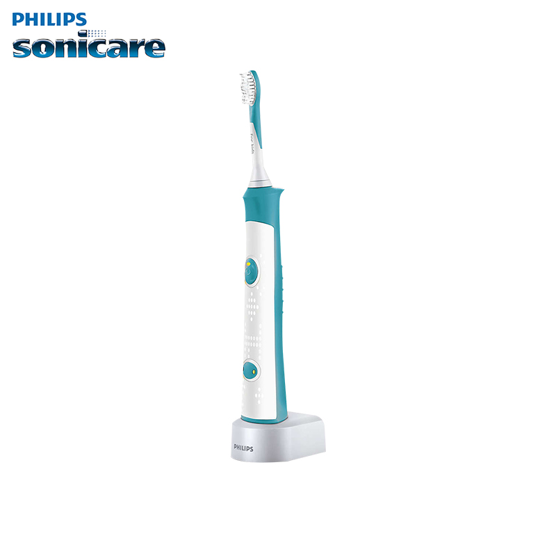 Electric toothbrush Philips HX6311/07 electric toothbrush tooth brush plaque removal whitening tooth cleaning cleaning brush with spray