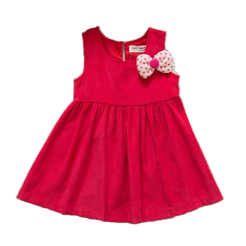 Vest Simple Baby Dress 2015 Retro Fashion Baby Girl Dress