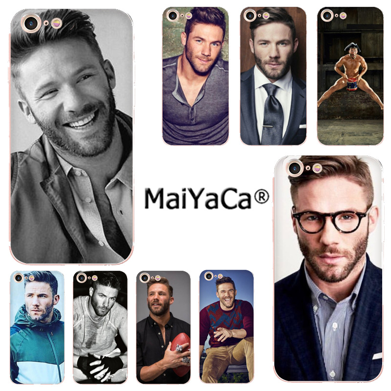 Maiyaca Julian Edelman Colorful Phone Accessories Case For Apple Iphone 11 Pro 8 7 66s Plus X 5s Se Xr Xs Xs Max Mobile Cover