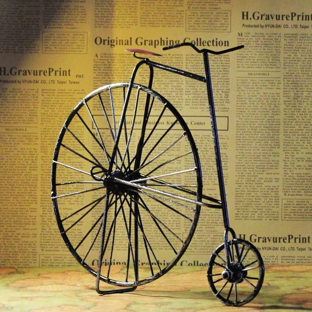 Zakka Vintage Home Decor Crafts Shabby Chic Home Decoration Accessories Antique Bicycle 11 5 5 5