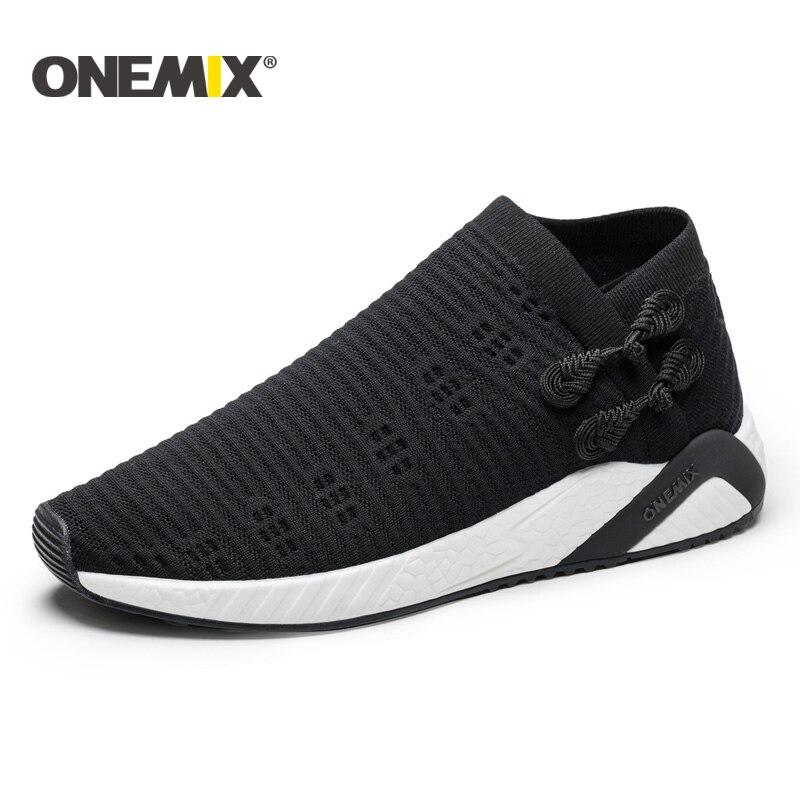 ONEMIX chaussettes chaussures de course pour hommes lumière cool respirant sneakers femmes chaussures de course chaussettes-lik mens sneakers chaussette sneaker femmes