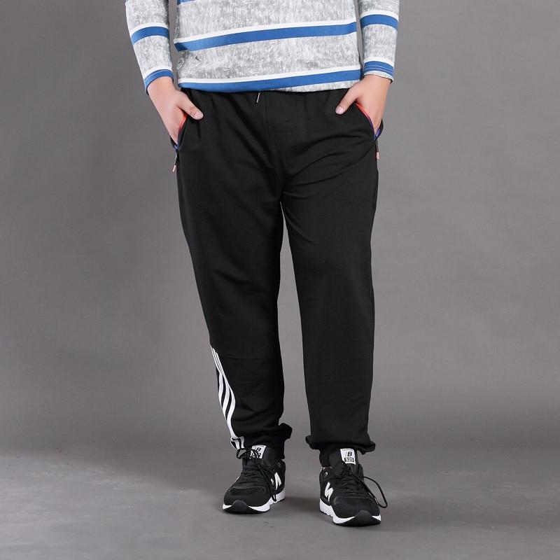 Yalabovso 2017 New Autumn Winter Fashion Plus size for 150KG man cotton pants Elastic Waist 7XL  Loose trousers for man  z20