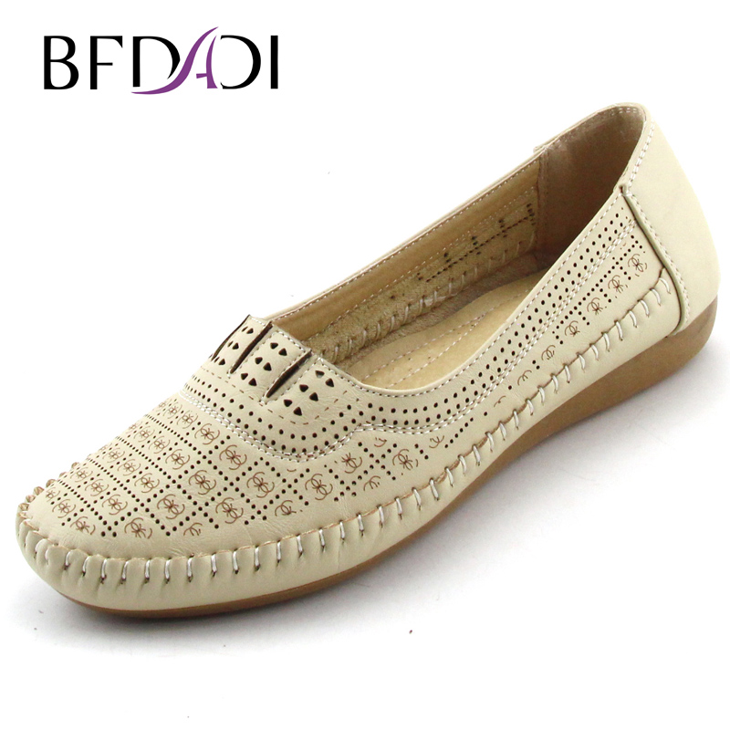 Aliexpress.com  Buy BFDADI Fashion Summer Flat Shoes ...
