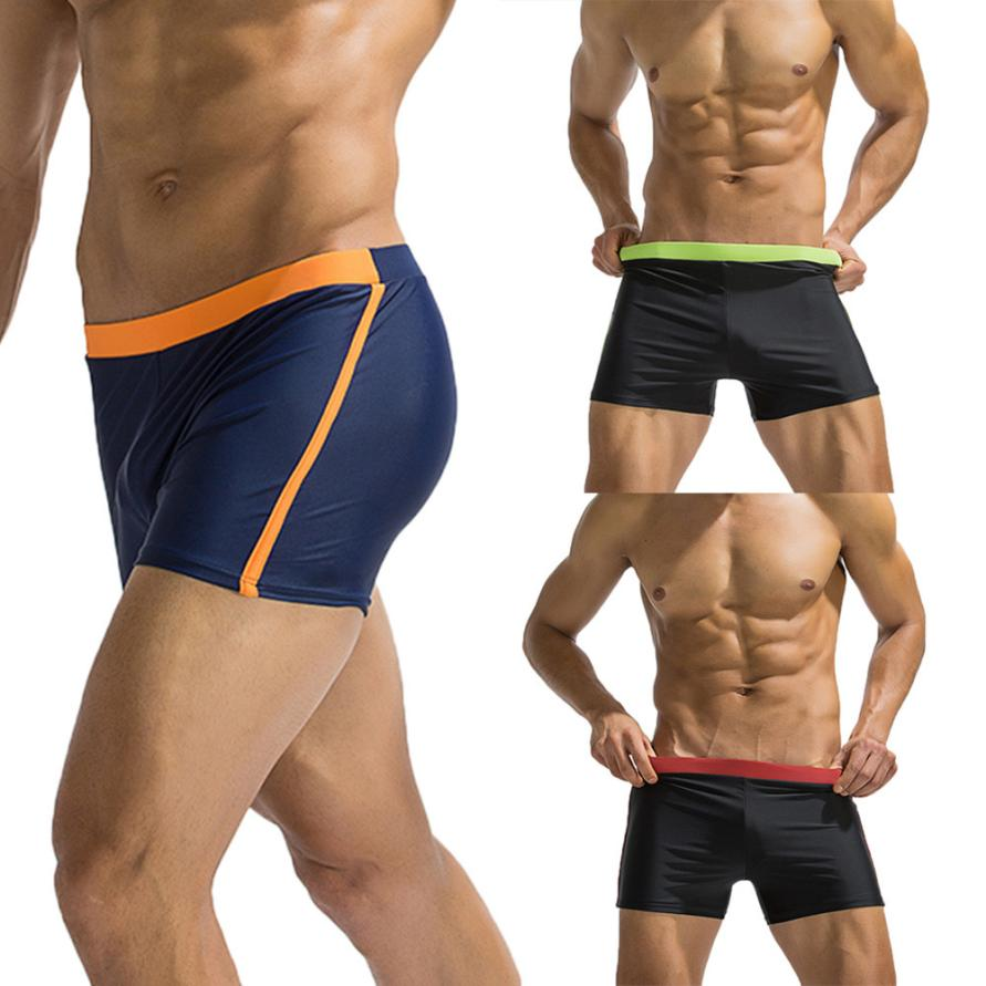 desire #40 Mens Swimwear Swimsuits Basic Long Beach Surfing Swim Boxer Trunks Board Shorts