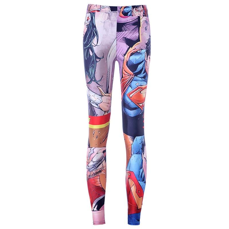 3d1d5ff09 NOWY 3415 Sexy girl kobiety Comics Avengers Flash Superman Batman 3D drukuje  poliester elastyczny fitnes Kobiety legginsy spodnie w NOWY 3415 Sexy girl  ...