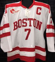 c52268fb2  7 David Van Der Gulik BOSTON COLLEGE white Red MEN S Hockey Jersey  Embroidery Stitched Customize