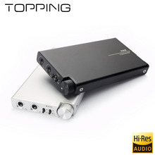 TOPPING NX5 Mini Portable Headphone Amplifier with AD8610+ BUF634 chip HIFI Digital Stereo Audio amplificador Original shipping