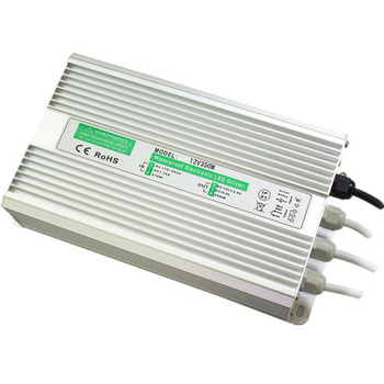 12V 350W Waterproof switch LED Driver power supply Constant voltage All aluminum  IP67 for street lighting
