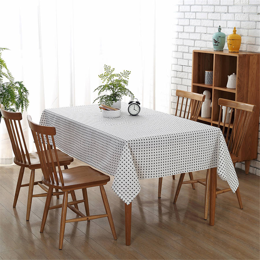 online get cheap white table cloths aliexpresscom  alibaba group - modern tablecloths wedding decoration party cross pattern printed tableclothdustproof white table cloth toalha de mesa