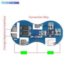 Carte de Protection contre les courts-circuits, chargeur de batterie au Lithium Li-ion 18650 série 2, Module BMS 7.4V 4A CC 9V 12V CC CV
