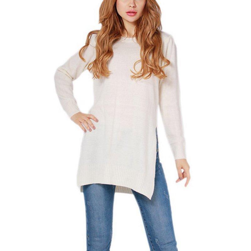 ⑦Moda mujer knitwear mujer casual sweater Otoño Invierno hecho ...
