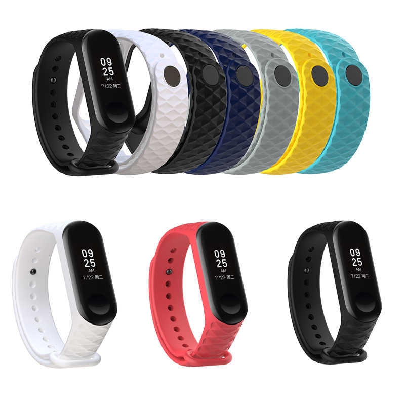 2019 NEW Arrival Watch Brand For Mi Band 3 Strap Miband 3 Silicone Strap For Xiaomi Mi 3 Bracelet Replacement Wristband