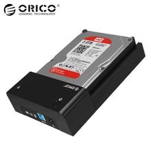 ORICO 3,5 дюймов HDD корпус USB3.0 SATA жесткий диск Дело SSD адаптер HDD док-станция для hdd 2,5 чехол 3,5 коробка