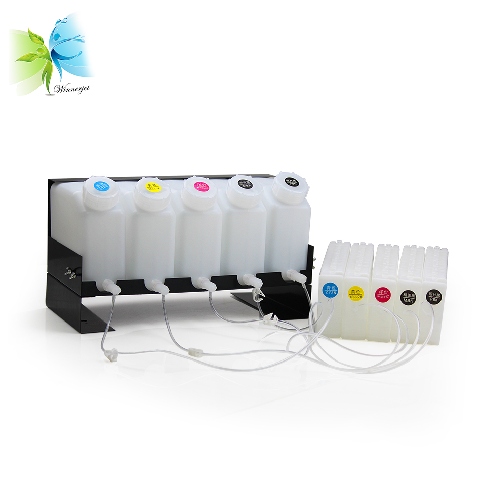 2L 700ml Volume Continuous Supply Ink System With ARC Chip For Epson SC T3070 T5070 T7070