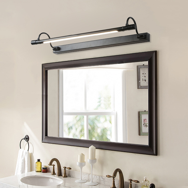 Retro Waterproof Vanity Lights Led Mirror Front Light Bronze Makeup Table Lamp Bathroom Cabinet Wall Lamps Bedroom Home Vanity Lights Aliexpress