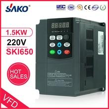 Sako 220 В кВт DC вход Солнечный фотоэлектрический насос для сжатой воды преобразователь постоянного тока в переменный выход 3 фазы
