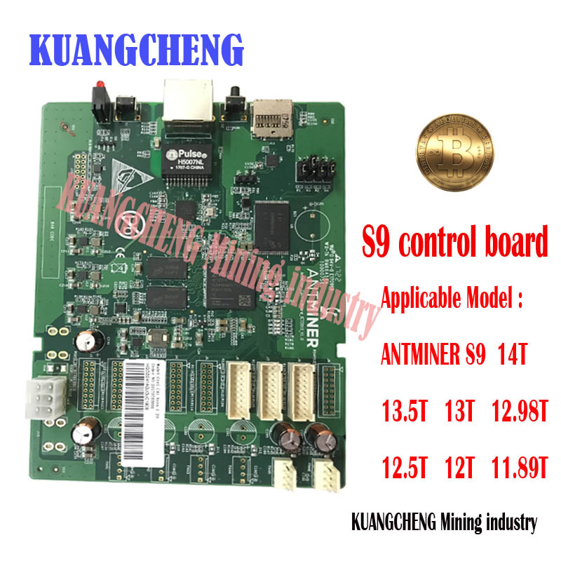 kuangcheng  s9 control board  Applicable to ANTMINER S9 14T 13.5T 13T 12.5T 12T 11.89T  Bitcoin miner  ...
