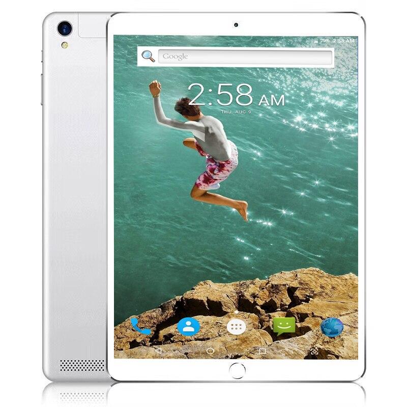 10.1 polegada P80 4g LTE FDD Telefone Chamada Google Android 7.11 MTK6797 10 Dez Núcleo IPS Tablet Wi-fi 6 gb + 8MP 64 gb 128 gb de metal tablet pc