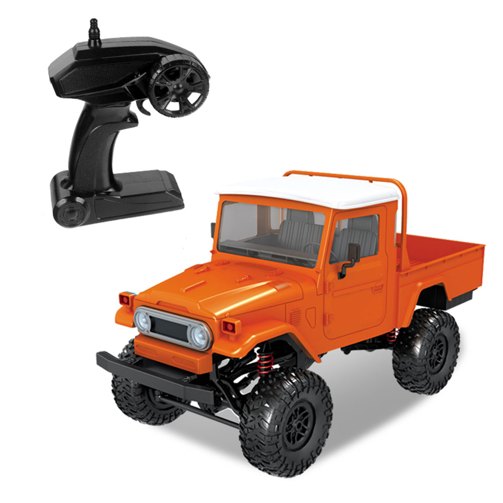 Внедорожный внедорожник игрушка RC Внедорожник Радиоуправляемый МУЛЬТИЦВЕТ культивировать интерес коллекция расслабить прочный Diy Детская игрушка для открытого воздуха подарок игра Rc игрушка - Цвет: orange