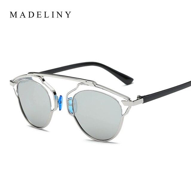 Fashion Vintage Cat Eye Sunglasses Women New Brand Butterfly Alloy Frame Sun Glasses Men Classic Eyewear Oculos MA118