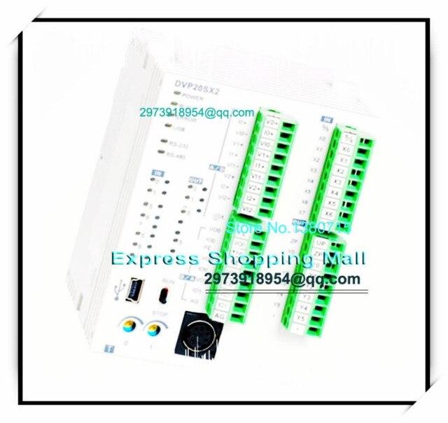 New Original DVP20SX211T Delta PLC SX2 series 24VDC 8DI 6DO (Transistor NPN) 4AI/2AO