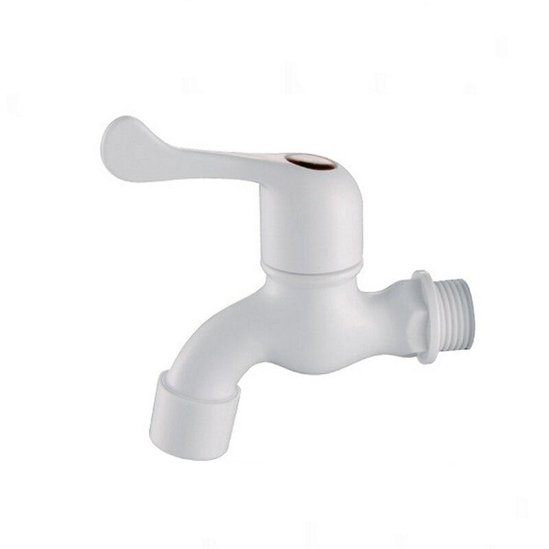 Plastic faucet porcelain white washer washing machinebasin - White porcelain bathroom fixtures ...