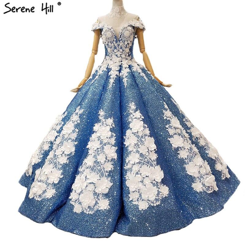 Glitter Wedding Gowns: Sexy Off Shoulder Luxury Glitter Wedding Dresses 2019 New