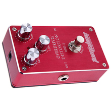 Electric Guitar Bass Overdrive Distortion Effect Pedal True Bypass Aroma AOD-1