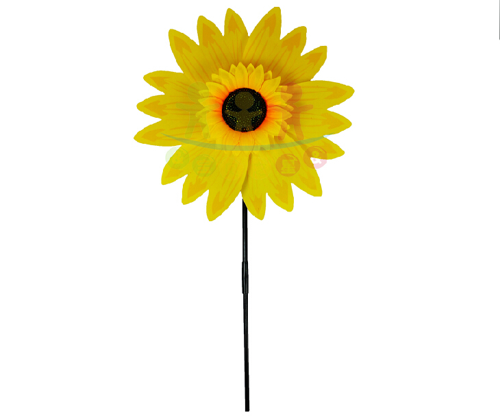 Windmill Sunflower Wind Spinner Whirligig Garden Lawn Yard