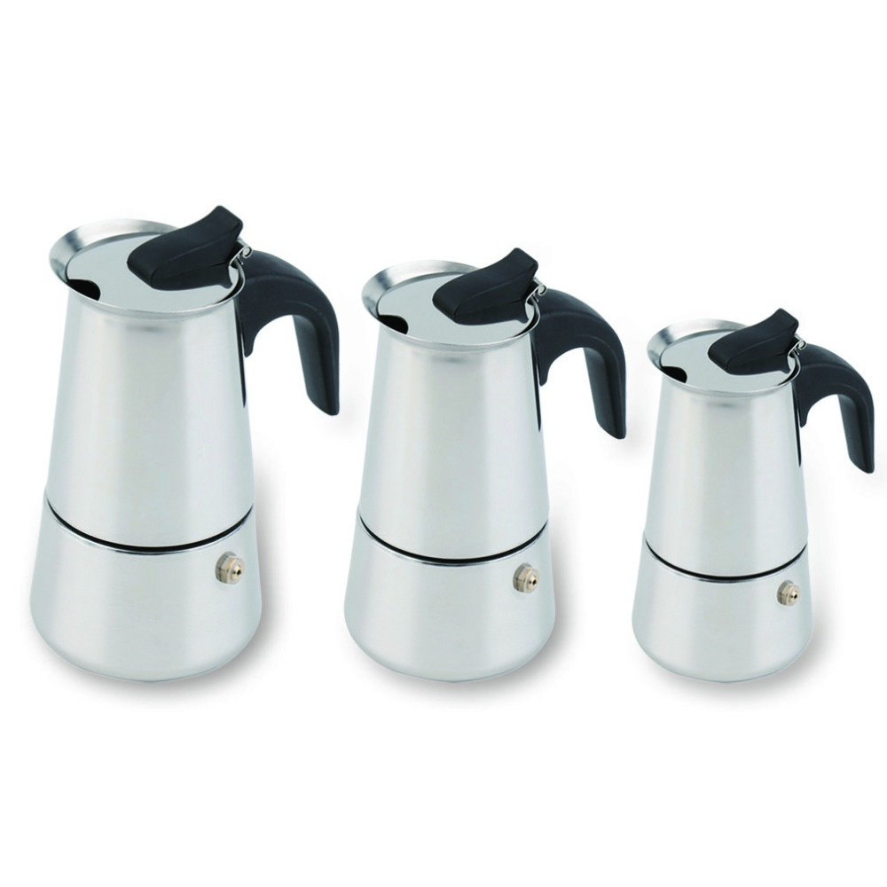 2/4/6 Cups Moka Coffee Kettle Maker Moka Pot Espresso ...